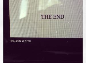 It's Sunday & I'm Boring: The I Finished the Draft Edition
