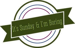 It's Sunday & I'm Boring: As Mysterious as a Bucket Edition