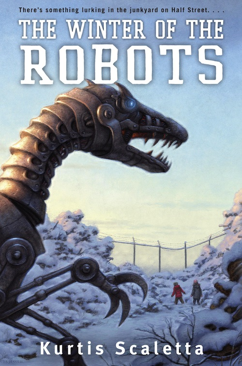 Robot books for young adults