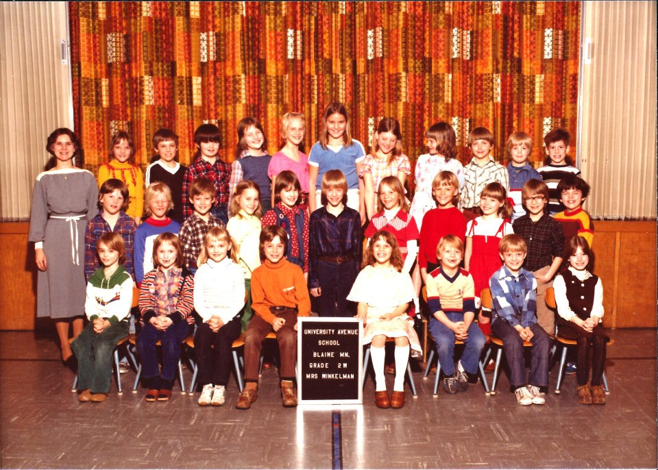 2nd grade class picture